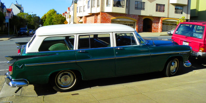 1956 Chrysler Windsor wagon