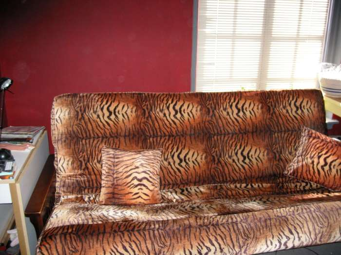 Tiger Print Couch